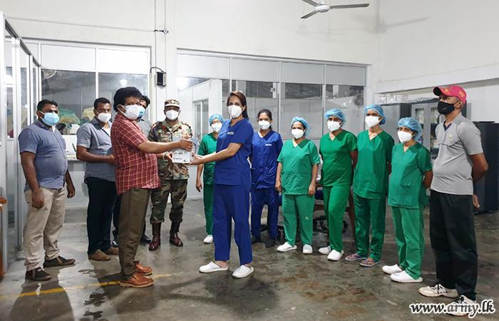 613 Brigade Coordinates Donation of Medical Needs to ICC