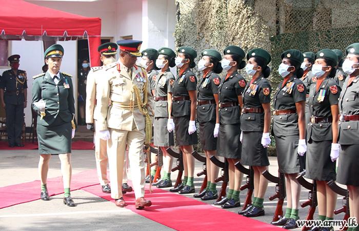 SLAWC Colonel Commandant Begins Duties