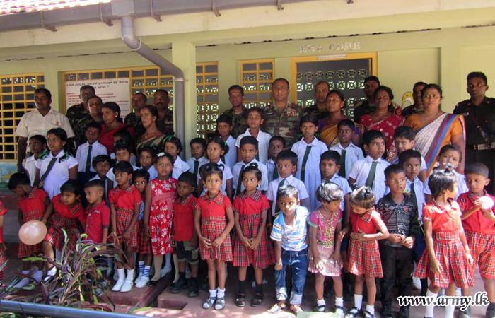 26 ஆவது தேசிய பாதுகாப்பு படையணியினால் சிறுவர் தின நிகழ்வு
