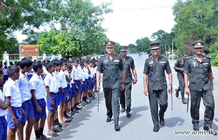 Mullaittivu School Invites GOC to Join 50th Anniversary