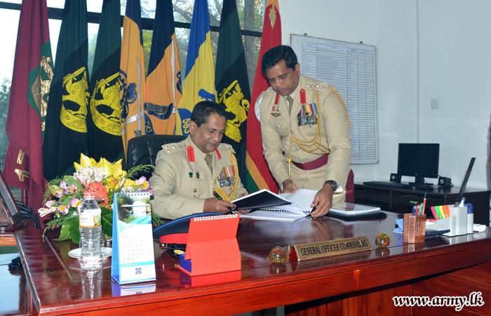 New GOC of 56 Division Brigadier Dematanpitiya Takes Office