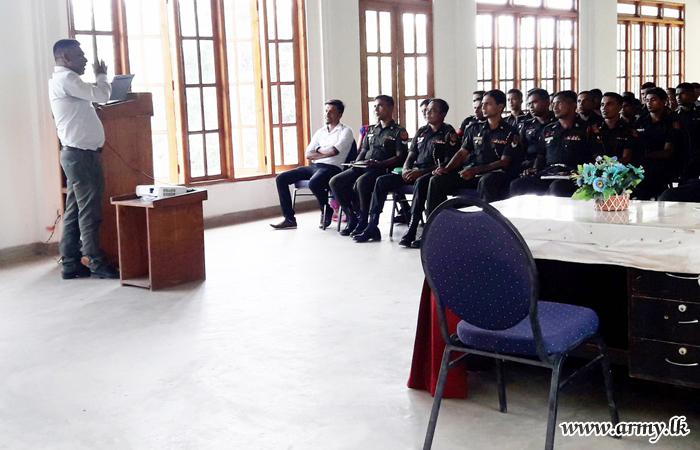 571 Brigade Troops Enlightened on 'Disaster Management'