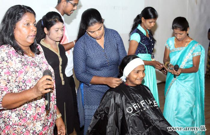 'Beauty Culture' Workshop Attracts Kilinochchi Ladies
