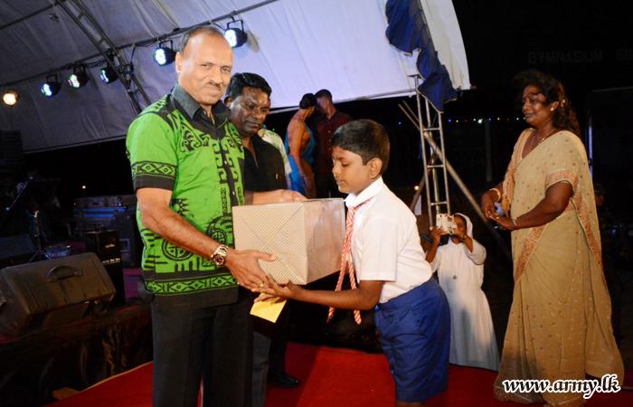 Grade 5 Achiever Given Incentives