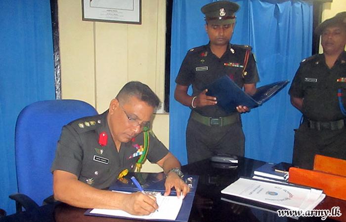 621 Brigade New Commander Assumes Office