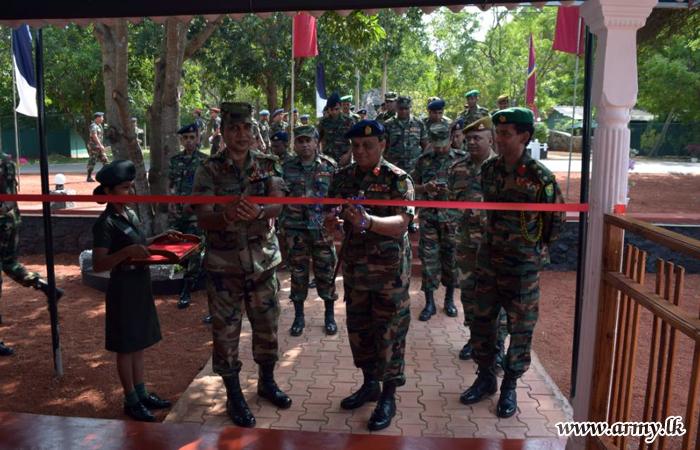 621 Brigade Headquarters Gets New Facelift