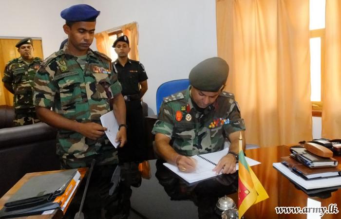 New 683 Brigade Commander Assumes Office