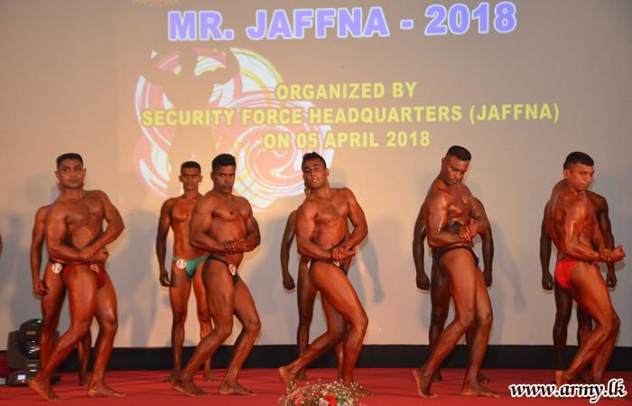 'Mr. Jaffna – 2018' තරඟාවලියේ ශුරතාවය 7 වන ගජබා රෙජිමේන්තුවේ සාමාන්ය සෙබල ආරච්චි දිනාගනි