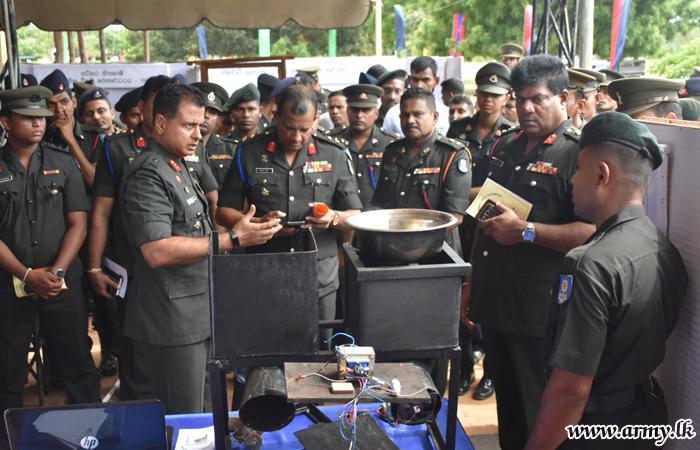 Mullaittivu Troops Join 'Sahasak Nimevun' Innovation Exhibition - 2018