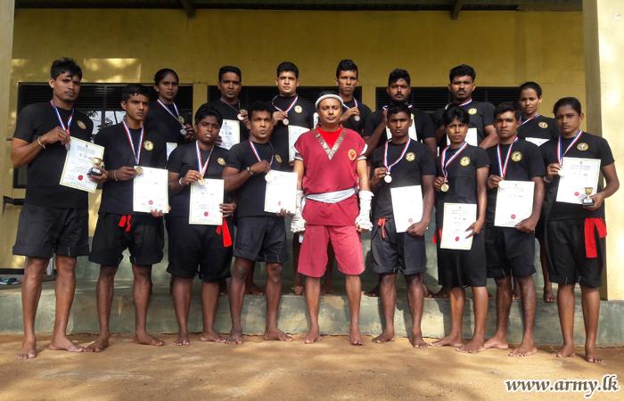 தேசிய மூய்தாய் குத்துச் சண்டைப் போட்டியில் இராணுவத்தினருக்கு வெற்றி