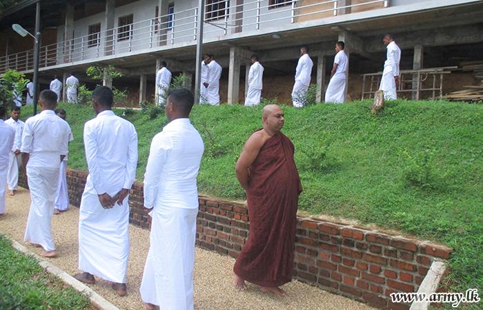 Troops Meditate at Kanduboda Meditation Centre