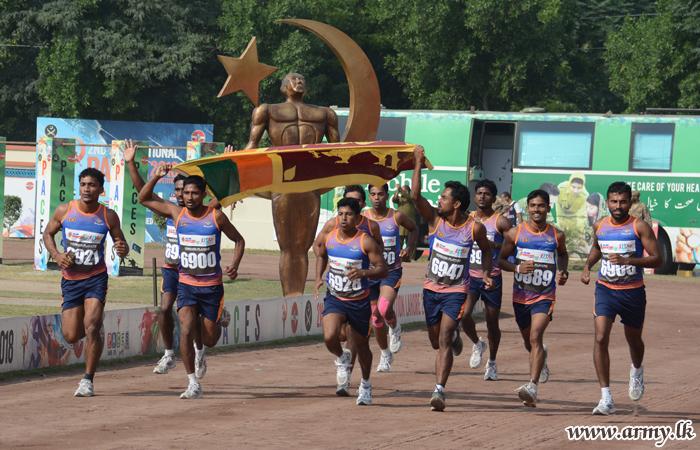 இராணுவ போட்டியாளர்கள் 36தங்க மற்றும் 22 வெள்ளிப் பதக்கங்களை வெற்றியீட்டினர்