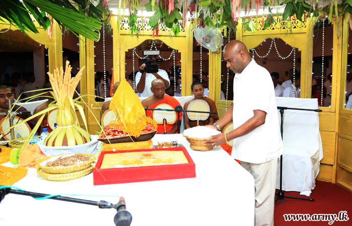 All-Night 'Pirith' Chanting & Alms-Giving at Bodhirajaramaya Bring Religious Segment to End