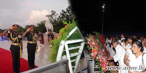 இலேசாயுத காலாட்படையணியின் மரணித்த படைவீரர்களின் நினைவு விழா