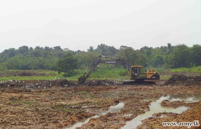 'Rata Rakina Jathiya' Gives Lead to Clearing of Polonnaruwa 'Meewathpura' & 'Chirana' Tanks