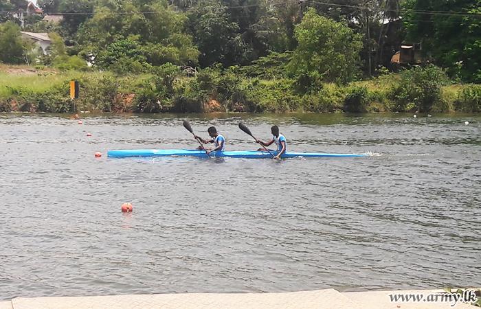 இராணுவ படகோட்டம் வீரர்கள் தேசிய ரீதியிலான படகோட்டி போட்டியில் வெற்றி