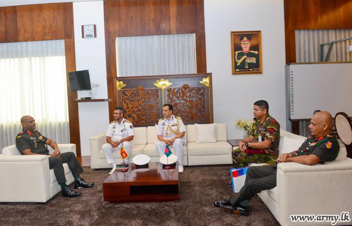 Bangladesh DSCSC Delegation Meets Commander