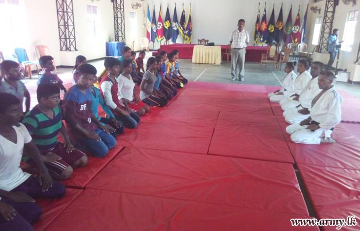 Judo Workshop for Killinochchi Students