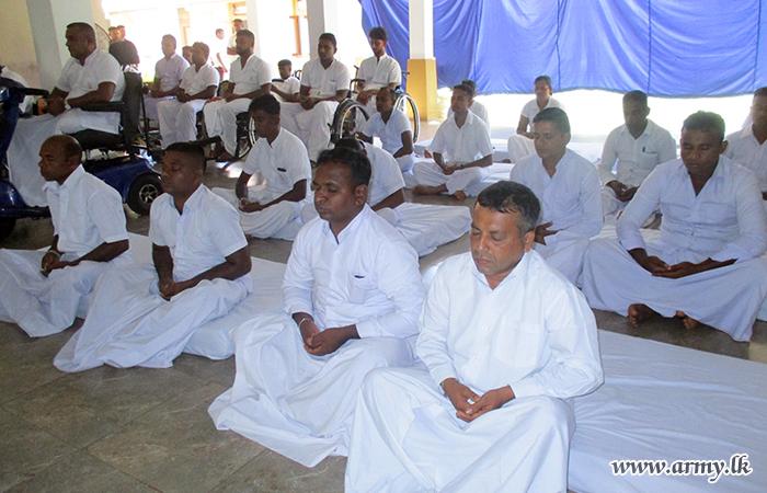 'Abimansala - 3' War Heroes Practise Mind Healing Mediation