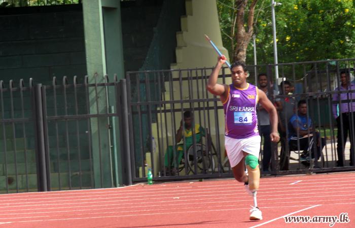 சாஜன் ஹெட்டியாரச்சி ஈட்டி எரியும் போட்டியில் சாதனை