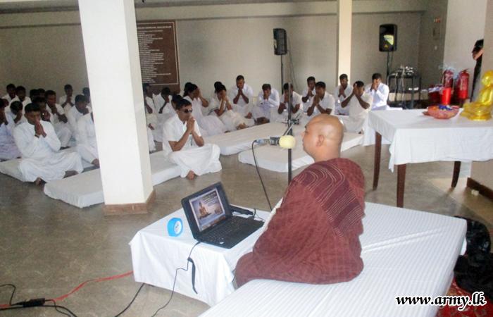 'Abimansala - 3' Inmates Meditate