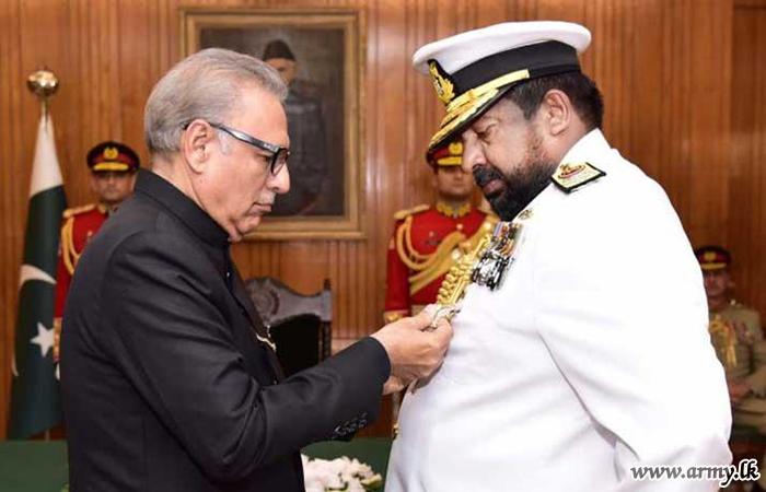 Pakistan Confers Highest Military Award 'Nishan-e-Imitiaz' on Chief of Defence Staff