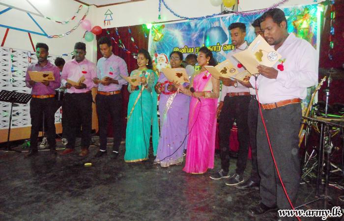 சாவகச்சேரியில் இடம் பெற்ற பிரமாண்டமான நத்தார் கரோல் நிகழ்வுகள்