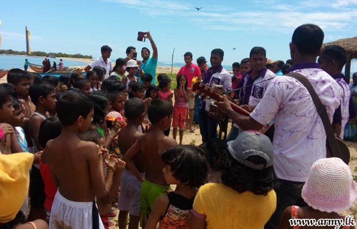 23 Div Troops Make Ruhunuketha Primary School Students Happy