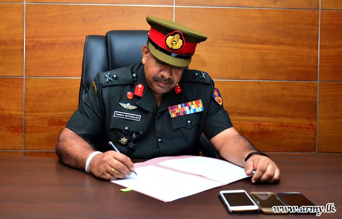 Major General Keppetiwalana New Director General Infantry Assumes Office