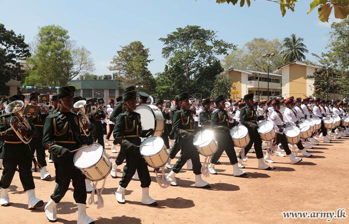 Army Mini Tattoo Add Colour to D.S Senanayake College Anniversary Programmes