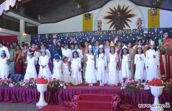 54 Division Organizes Christmas Carols in Mannar