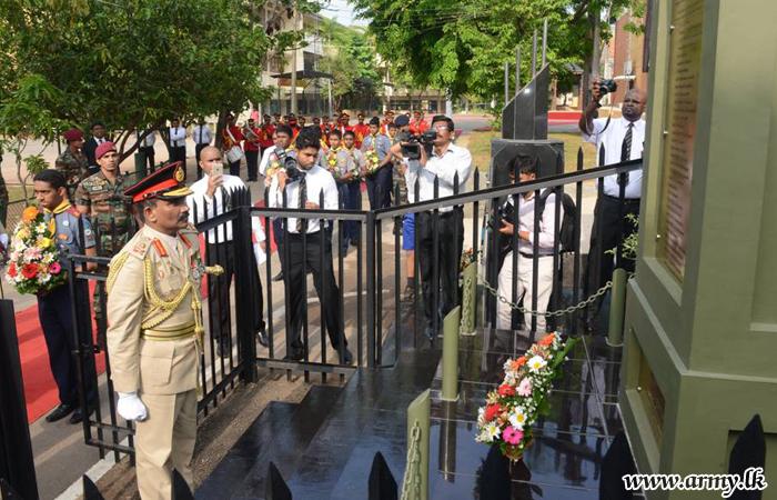 'Senanayakians' Recall Memories of Their Fallen War Heroes