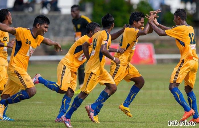 Army Footballers Beat Super Sun SC