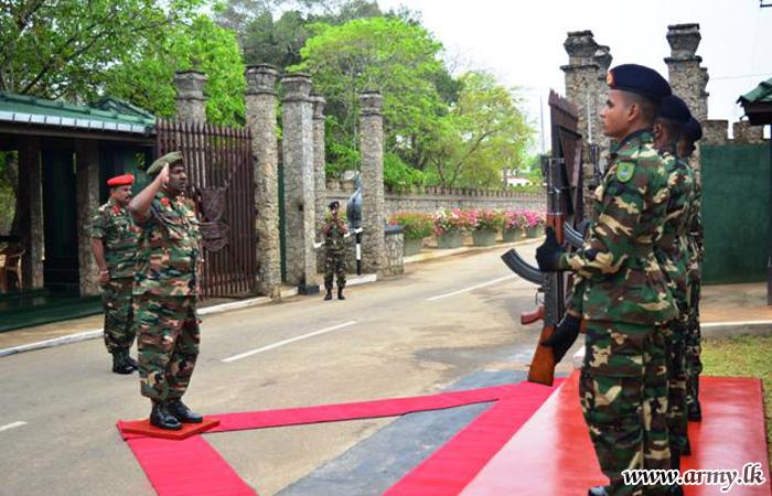 Major General K.M.U Wijeratne Bids Farewell to SF-E & Army