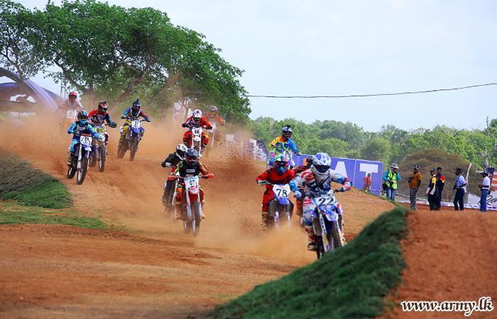 Army Riders Dominate 'Gajaba Supercross'