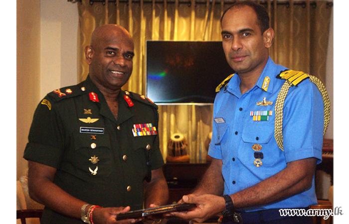 India's New Defence Adviser Calls on Commander SF-J