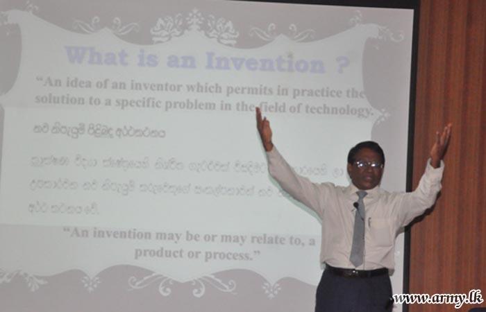 Awareness Programme on 'Innovative Thinking' Educates All Ranks