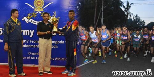 Army Inter Regiment Marathon Run Flags off at Handapangoda