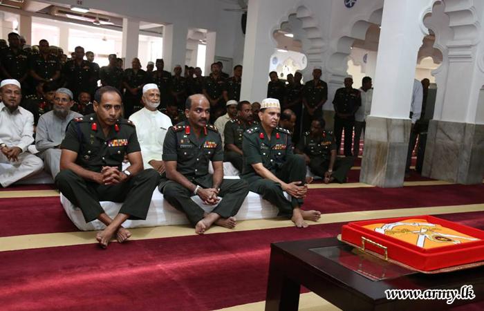 Jumma Mosque Prayers Shower Blessings on Army Anniversary