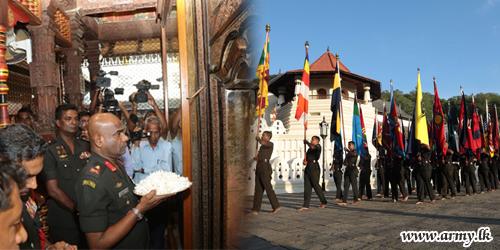68 ஆவது இராணுவ தினத்தை முன்னிட்டு கண்டியில் பௌத்த சமய நிகழ்வுகள்