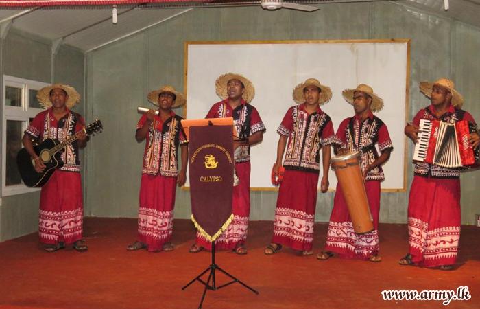 Calypso Musicians & Drama Talents Given Stimulant in 66 Division
