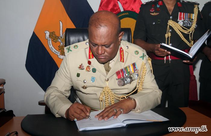 New Kilinochchi Commander Assumes Office