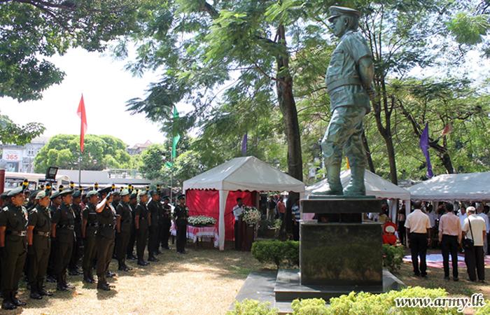 Late Lieutenant General Denzil Kobbekaduwa Remembered in Kandy