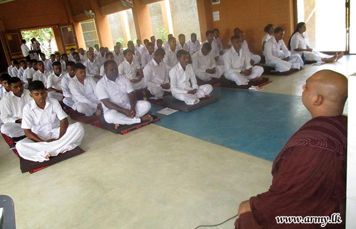 கந்துபோட தியான மத்திய நிலையத்தில்; மீண்டும் ஒரு தியான  பயிற்சி பட்டரை