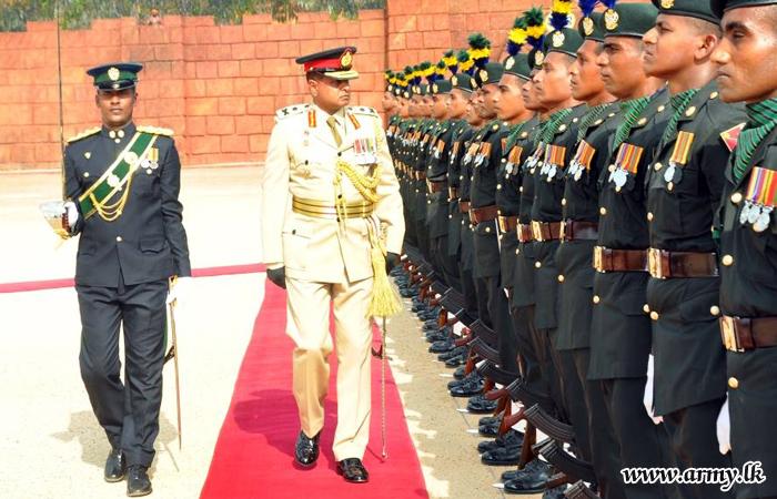 New MIC Colonel Commandant, Major General Rajaguru Assumes Office