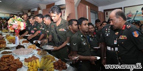 Customary Tea Table Brings New Year Spirits to AHQ