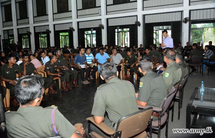 Workshop on 'Personal Hygiene' Educates Troops