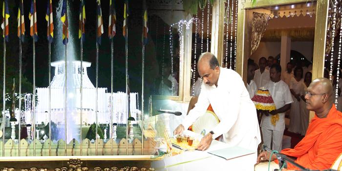 Final Religious Segment at Panagoda Bodhirajaramaya Invokes Blessings