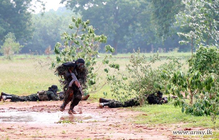 யாழ் - வசவிலனின் இடம் பெற்ற விசேட காலாட் படை நடவடிக்கைப் பயிற்சிகள்