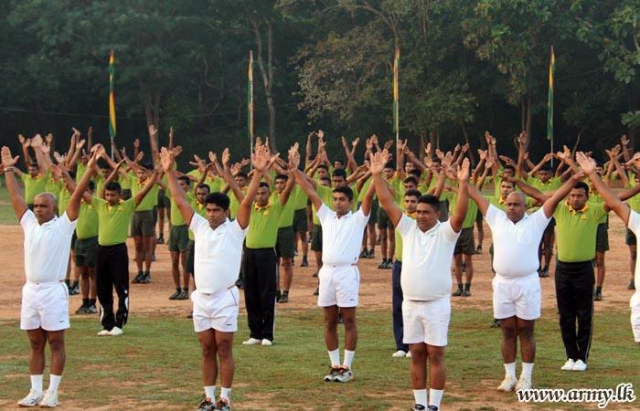 SFHQs in Kilinochchi, Mullaittivu, Central & Jaffna Launch Parallel 'Fitness Programmes'